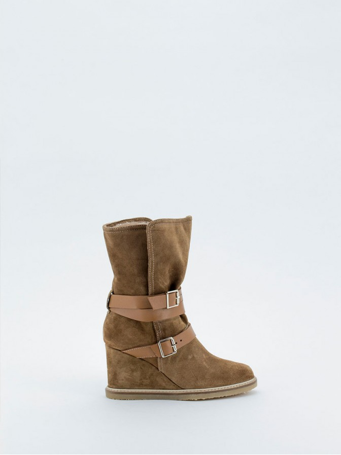 Botin doble faz natural