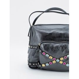 Bolso Shopper moon strass