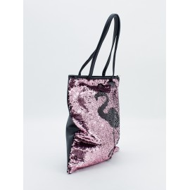 Bolso Shopper lentejuelas flamenco