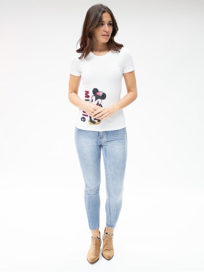 Camiseta estampado Minnie