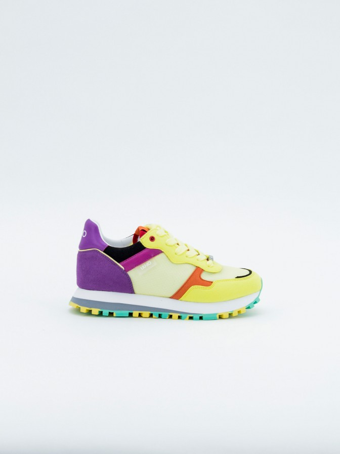 Sneakers Liu Jo ante y nailon