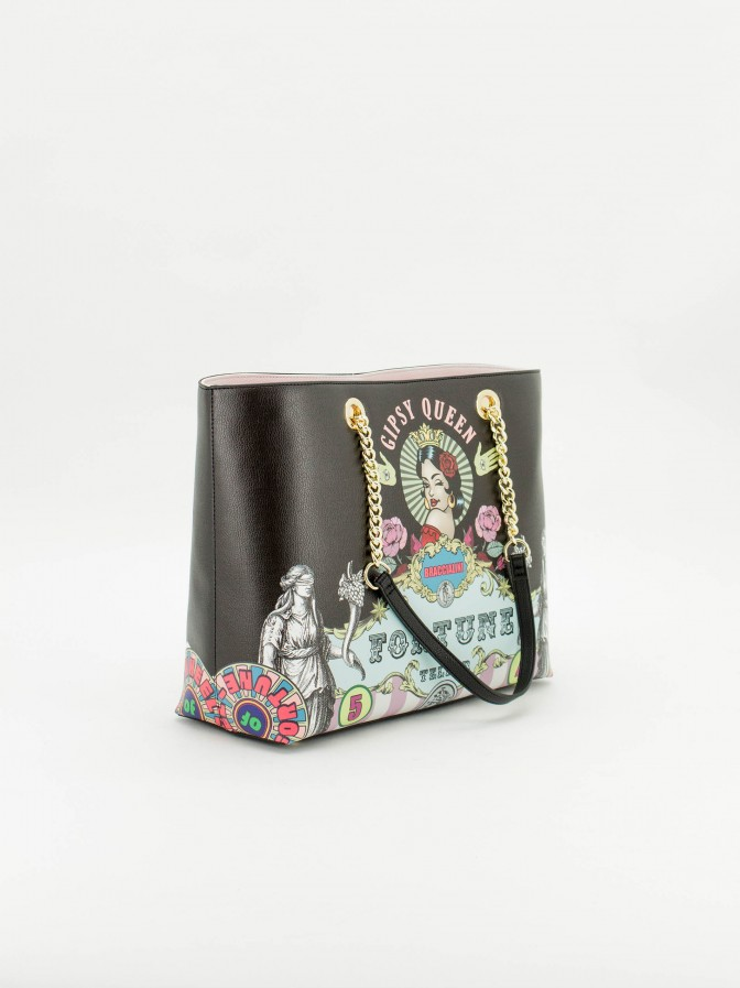 Braccialini gipsy queen shopper